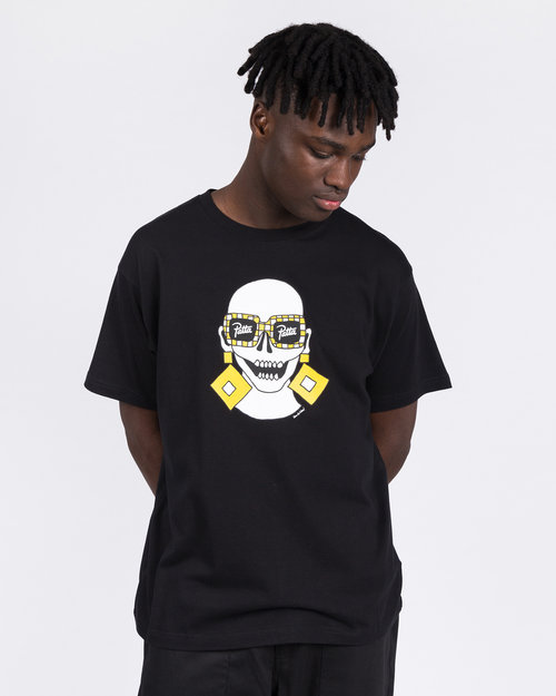 Patta Patta Square Ring T-Shirt Black