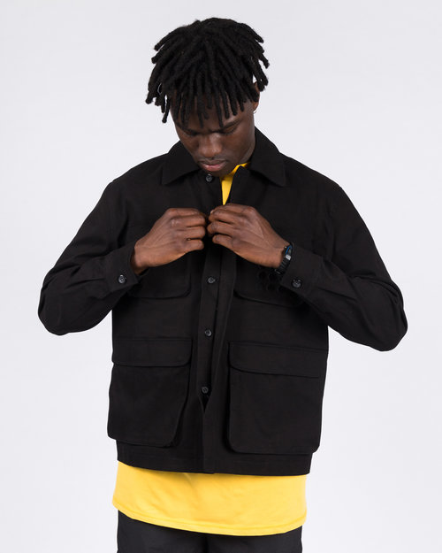 THE NEW ORIGINALS The New Originals 9-dots Multi Pocket Jacket Black