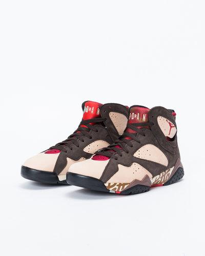 Nike Air Jordan X Patta 7 Retro Shimmer/Tough Red-Velvet Brown
