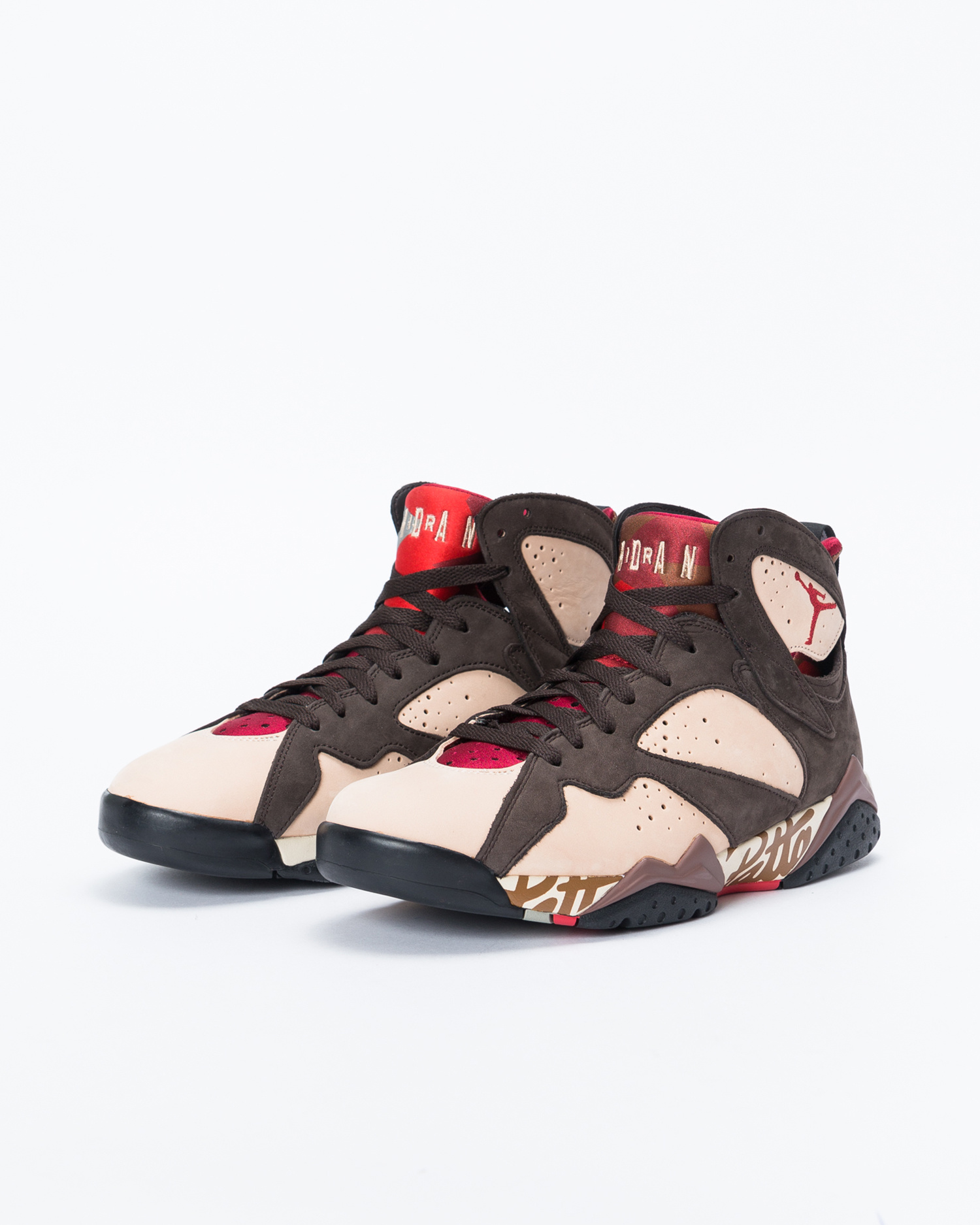 ddae7c98595 Nike Nike Air Jordan X Patta 7 Retro Shimmer/Tough Red-Velvet Brown ...