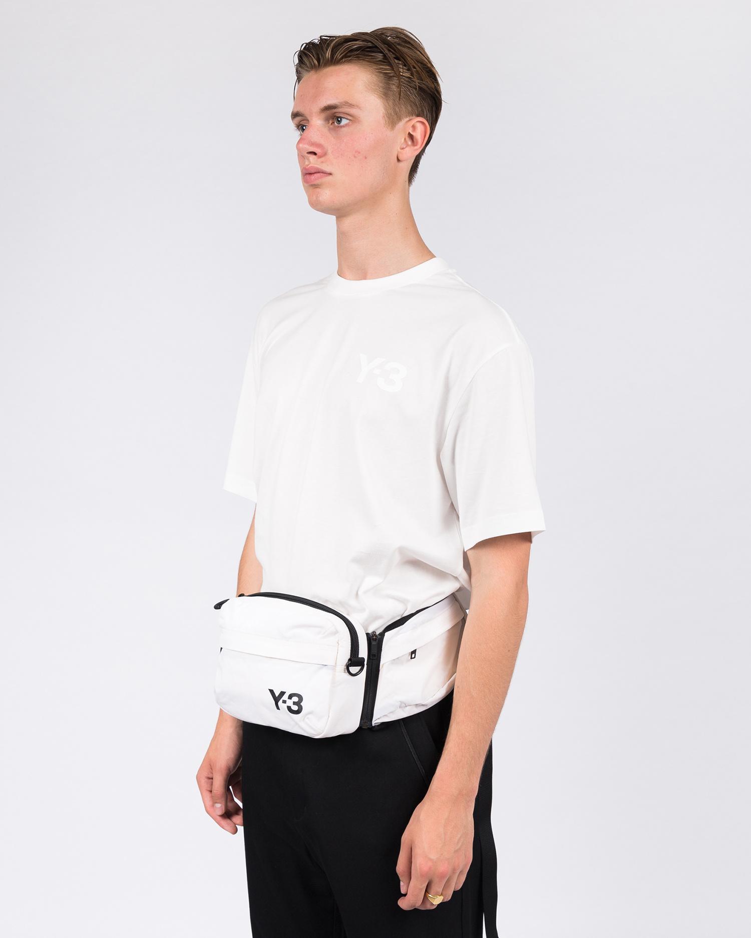 Adidas Y-3 Sling Bag Off White