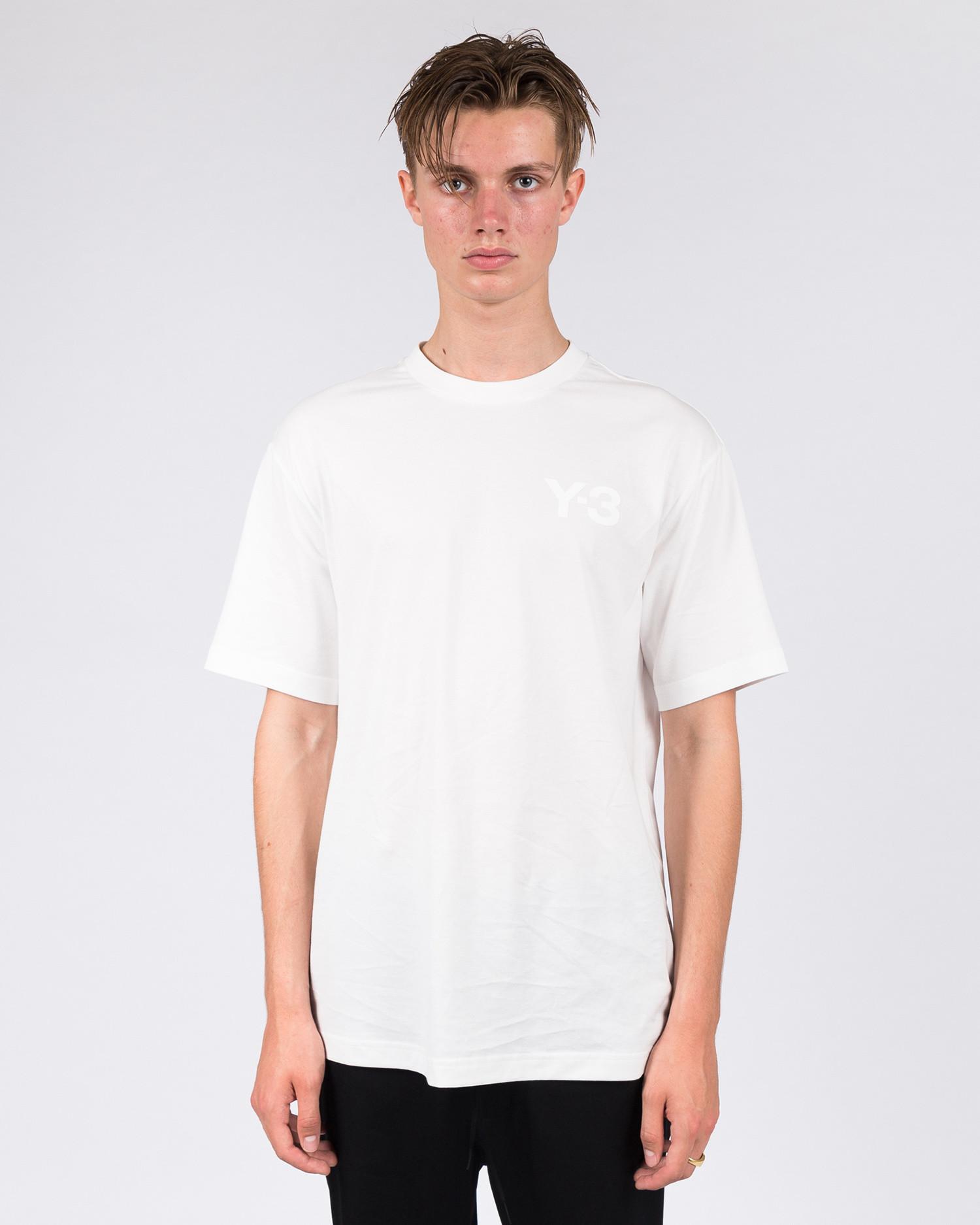 Adidas Y-3 Logo Tee Core White