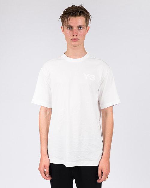 Adidas Adidas Y-3 Logo Tee Core White