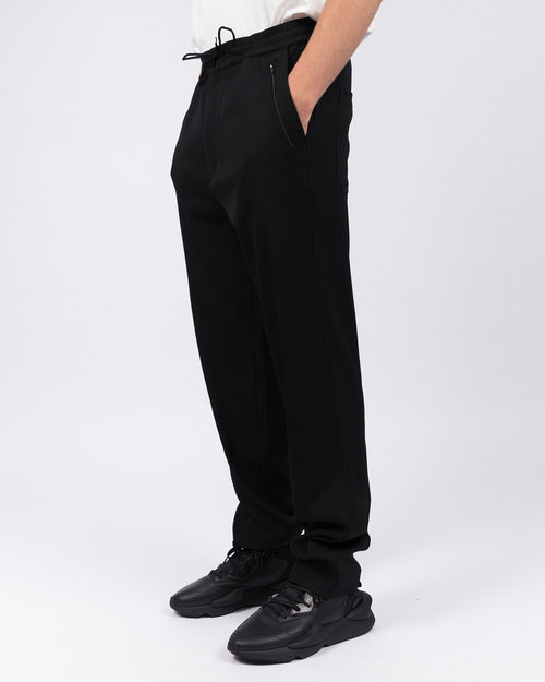 Adidas Adidas Y-3 Wool Sateen Straight Leg Pant Black