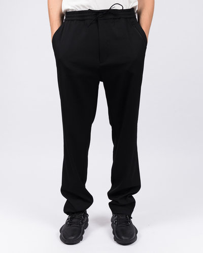 Adidas Y-3 Wool Sateen Straight Leg Pant Black