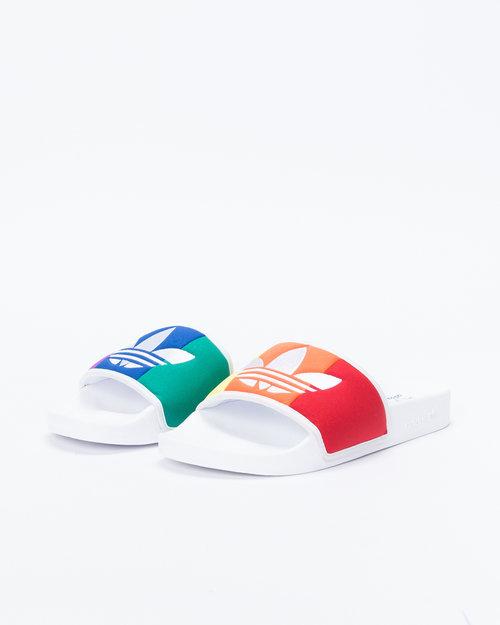 Adidas Adilette Pride FTWWHT/ORANGE/SCARLE