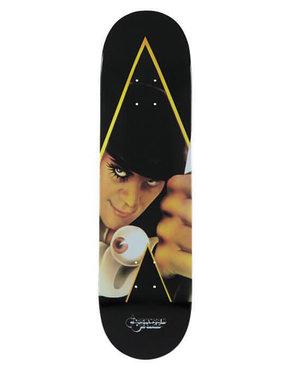 """MEDICOM TOY Sync. """"A Clockwork Orange"""" Skateboard Deck"""