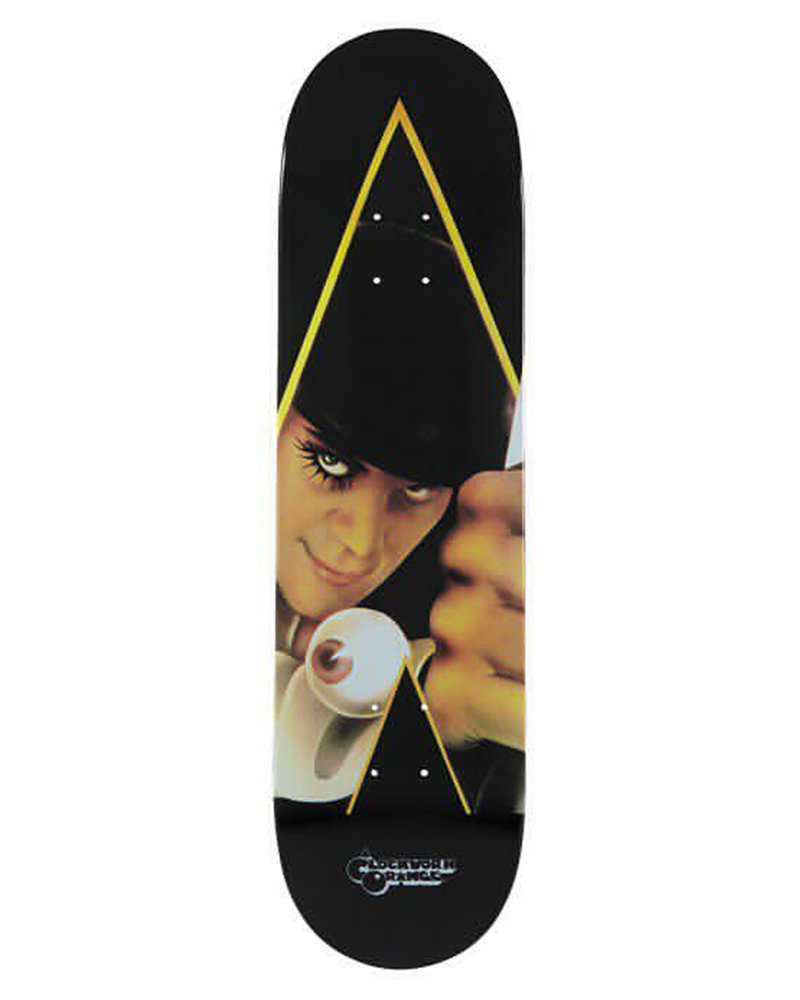 "MEDICOM TOY Sync. ""A Clockwork Orange"" Skateboard Deck"