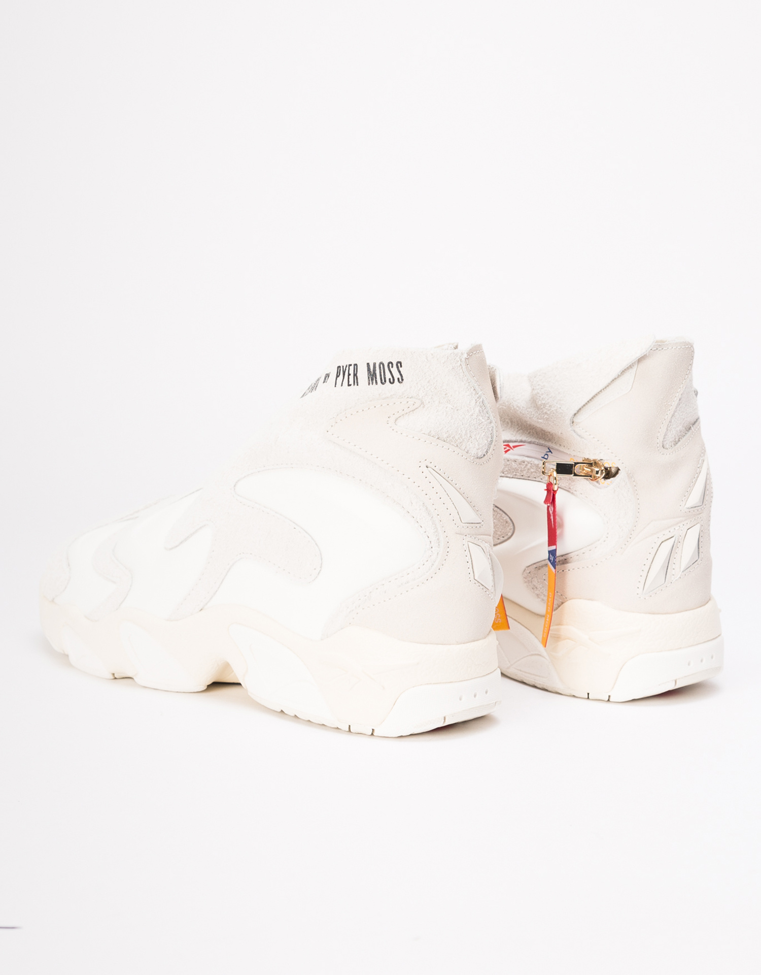 Reebok X Pyer Moss mobius experiment   chalk/papwht/goldmt