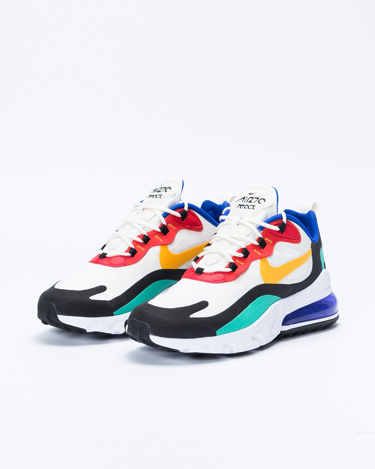 "Nike Air max 270 react ""Bauhaus"" Phantom/university gold-university red"