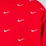Nike Nrg Crew Aop Swoosh Stripe University red