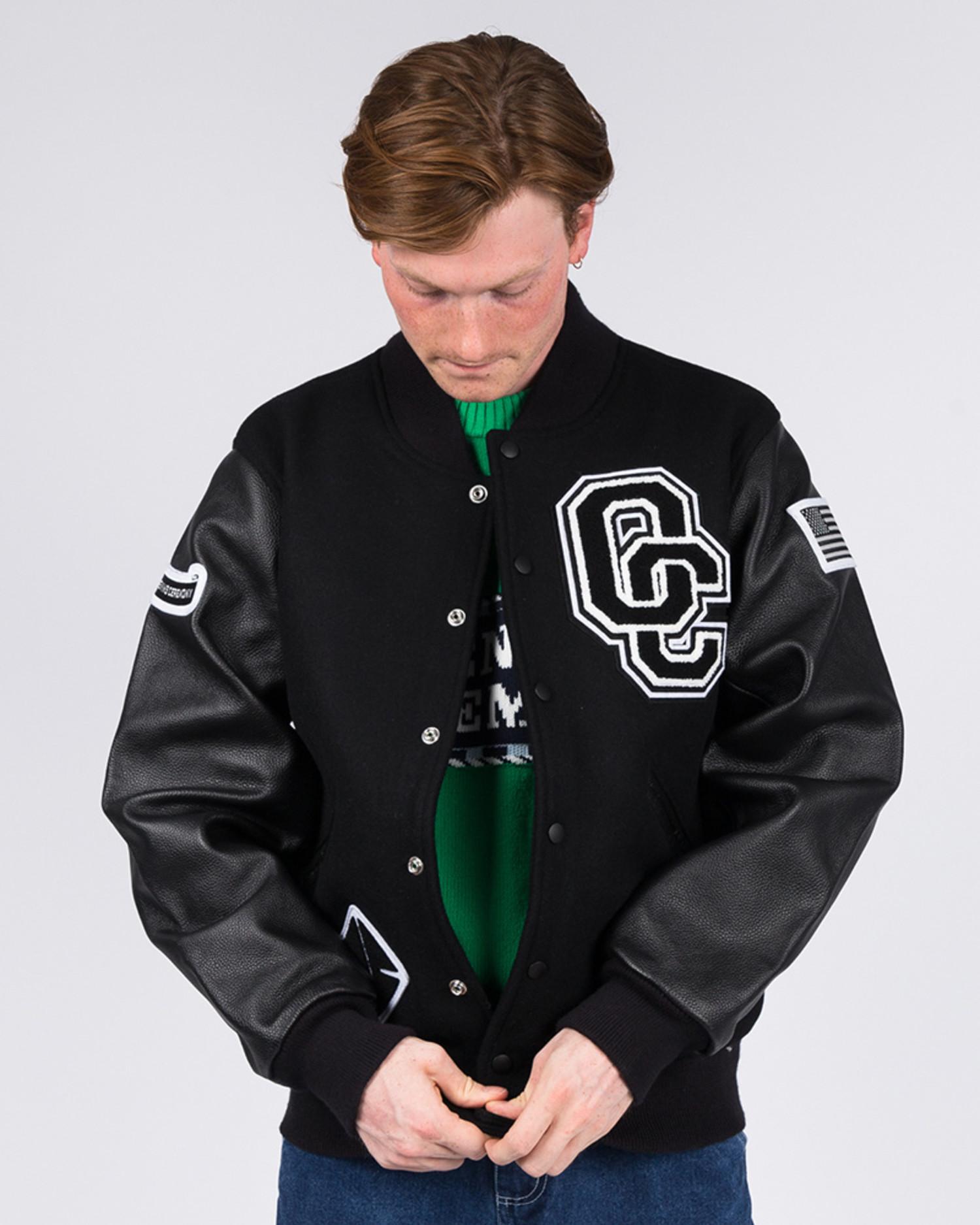 Opening Ceremony OC Varsity Jacket Black