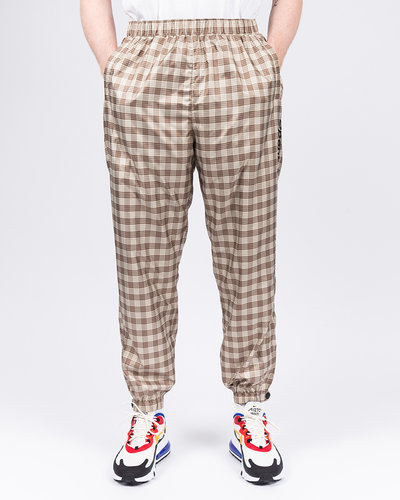 Opening Ceremony Plaid Knit Jogger Pant Khaki Multicolor