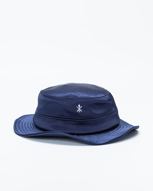 Opening Ceremony Opening Ceremony Satin Bucket Hat Collegiate Navy