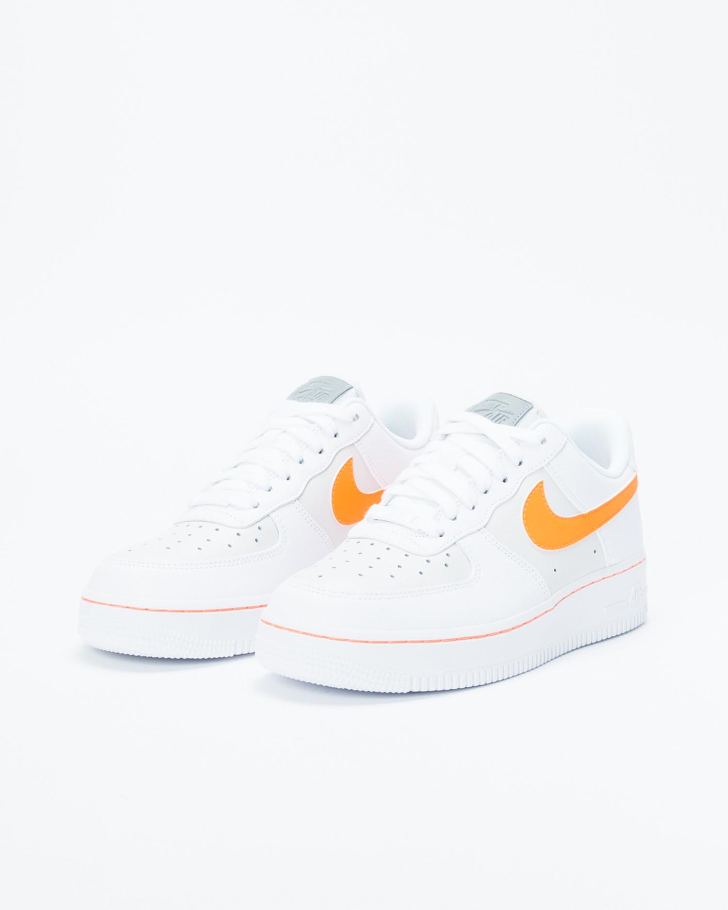 pretty nice 75c8c 7dcd3 Nike Air Force 1 Lo White/ Total Orange
