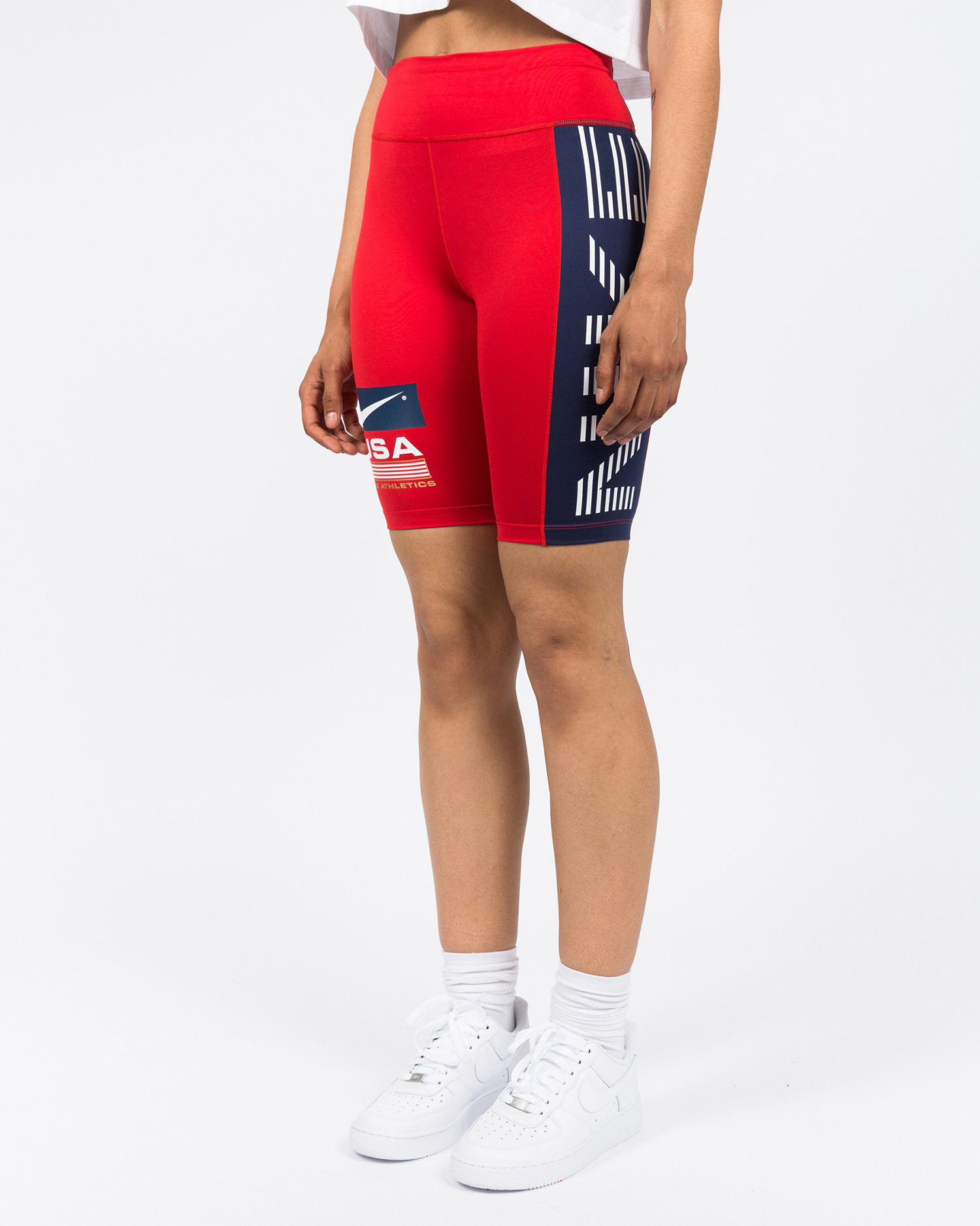 Nike NRG Bike Shorts Swoosh Stripe