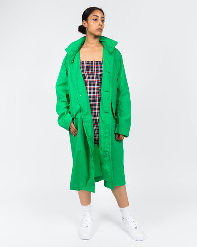 Opening Ceremony Nylon Logo Trench Coat