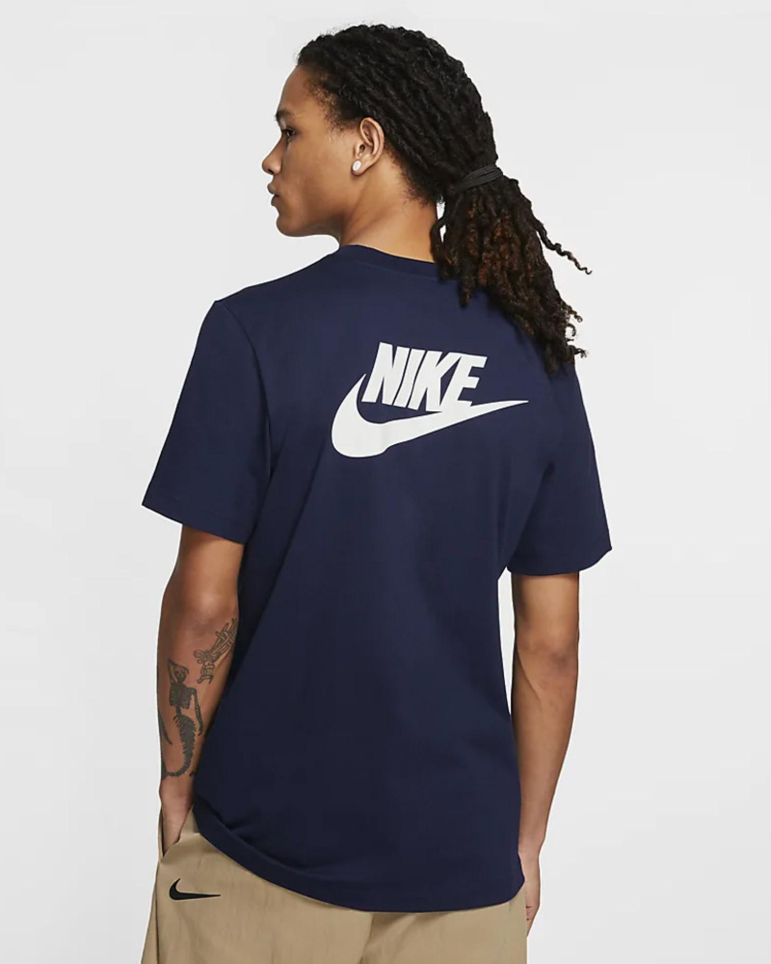 Nike Stranger Things Shortsleeve Tee College navy/sail