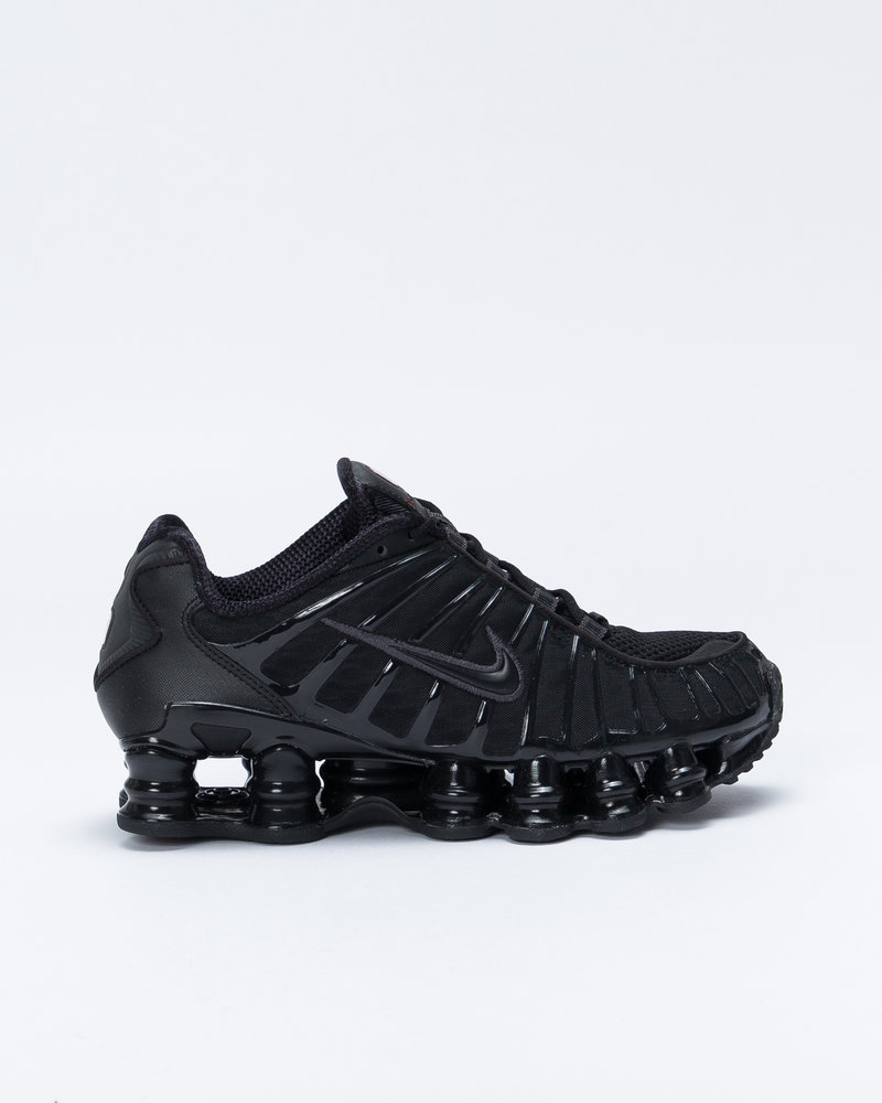 Nike Nike W Shox TL Black/Black/Mtlc Hematite/Max Orange