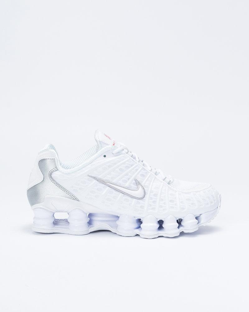 Nike Nike Shox TL White/White-Metallic Silver-Max Orange