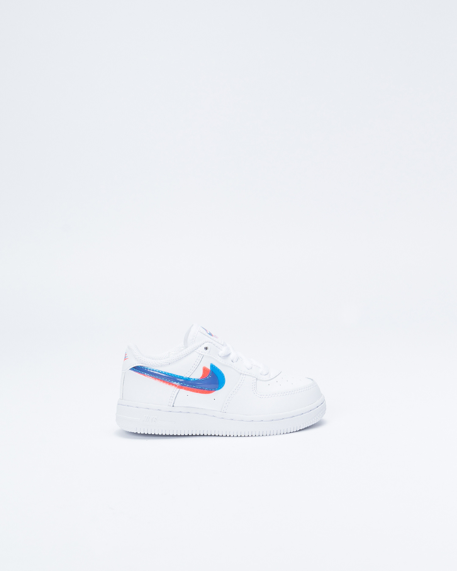 la meilleure attitude 2747c 6e492 Nike Nike Force 1 LV8 TD WHite/Blue Hero/Bright Crimson