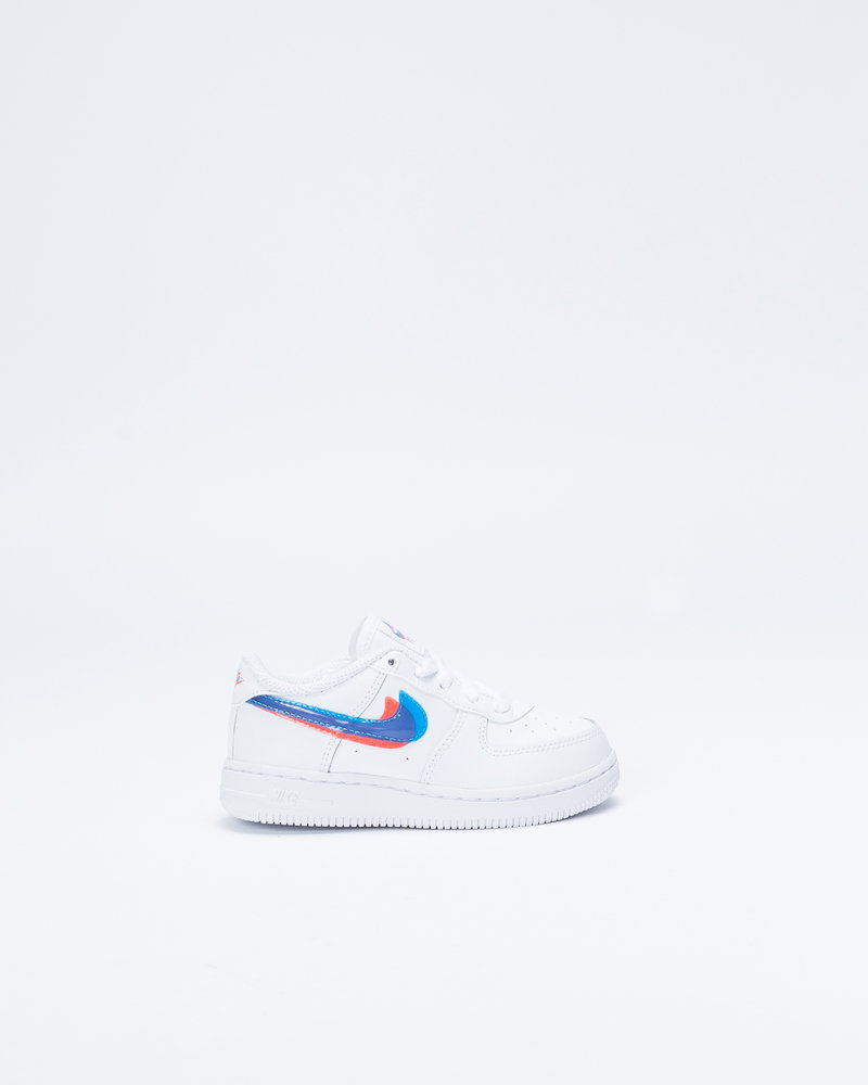 Nike Nike Force 1 LV8 TD WHite/Blue Hero/Bright Crimson
