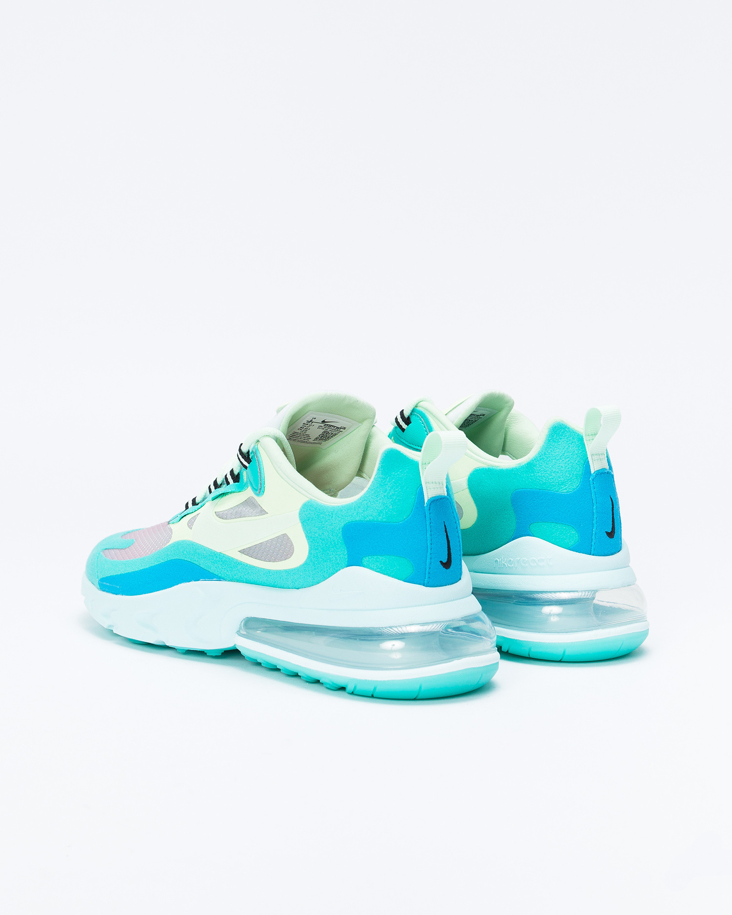 Nike Air max 270 react Hyper jade/frosted spruce-barely volt
