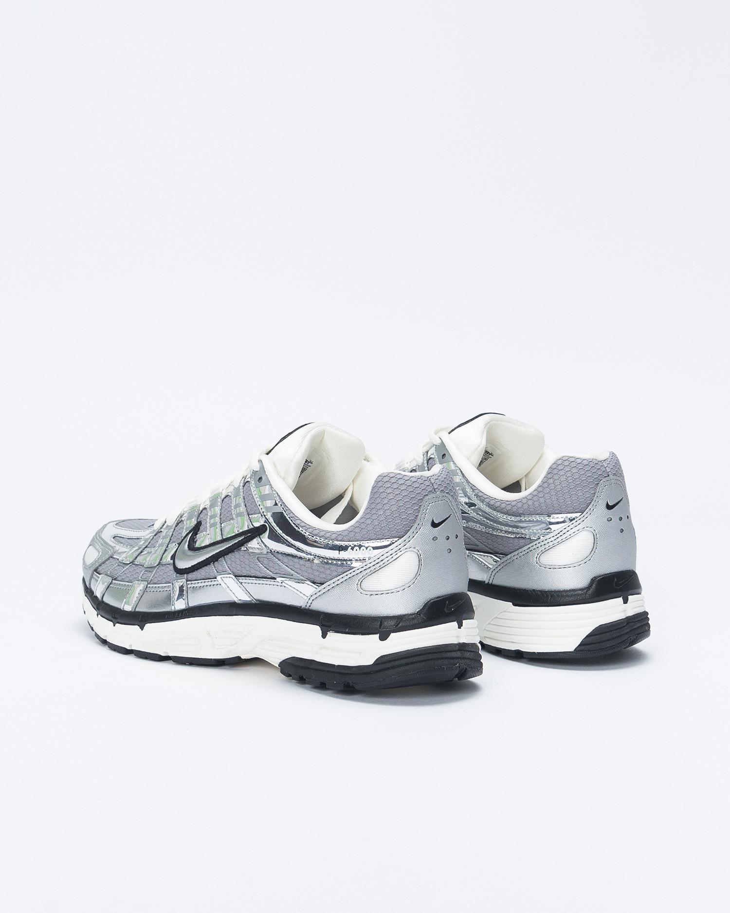 Nike P-6000 Metallic Silver/Metallic Silver/Sail