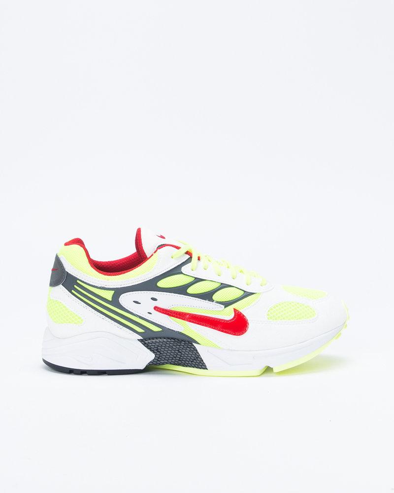 Nike Nike Air Ghost Racer White/Atom Red/Neon yellow/Dark grey
