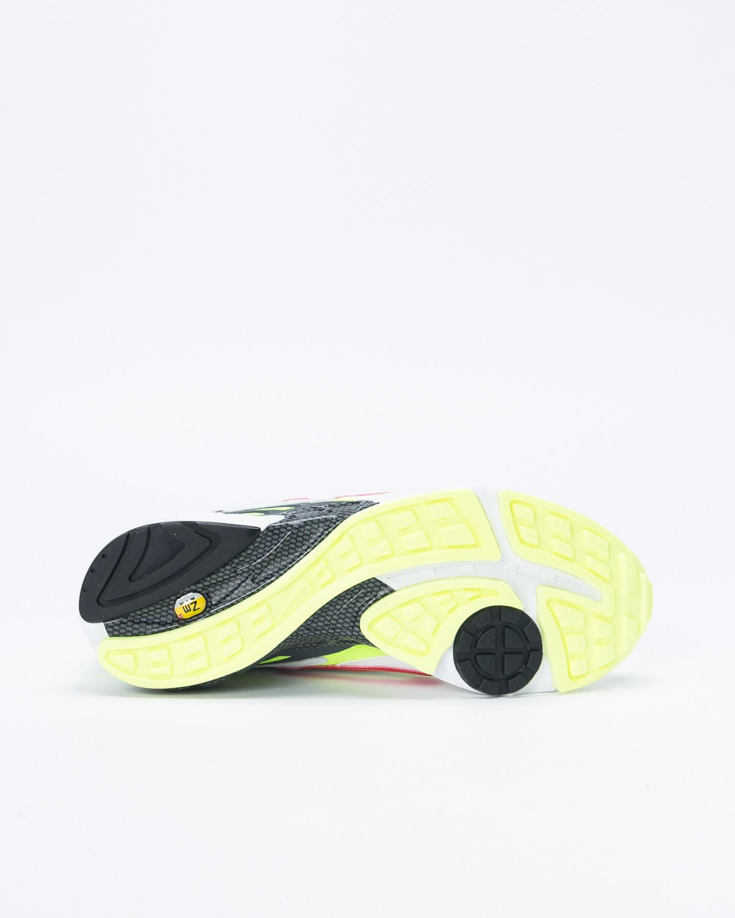 Nike Air Ghost Racer White/Atom Red/Neon yellow/Dark grey