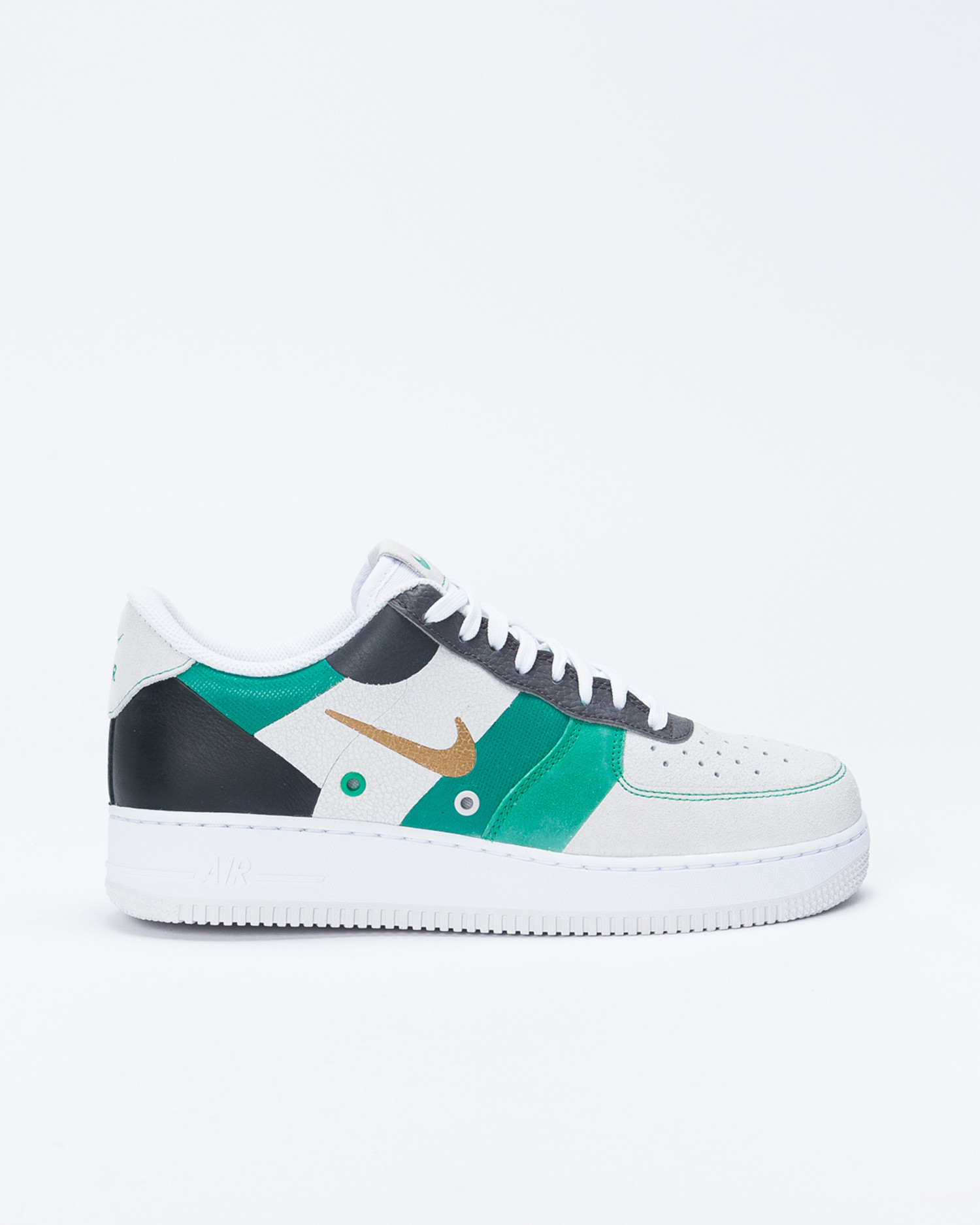 nouvelle arrivee fe3ed 83db2 Nike Air Force 1'07 Premium White/Metallic gold/Black/Vast grey