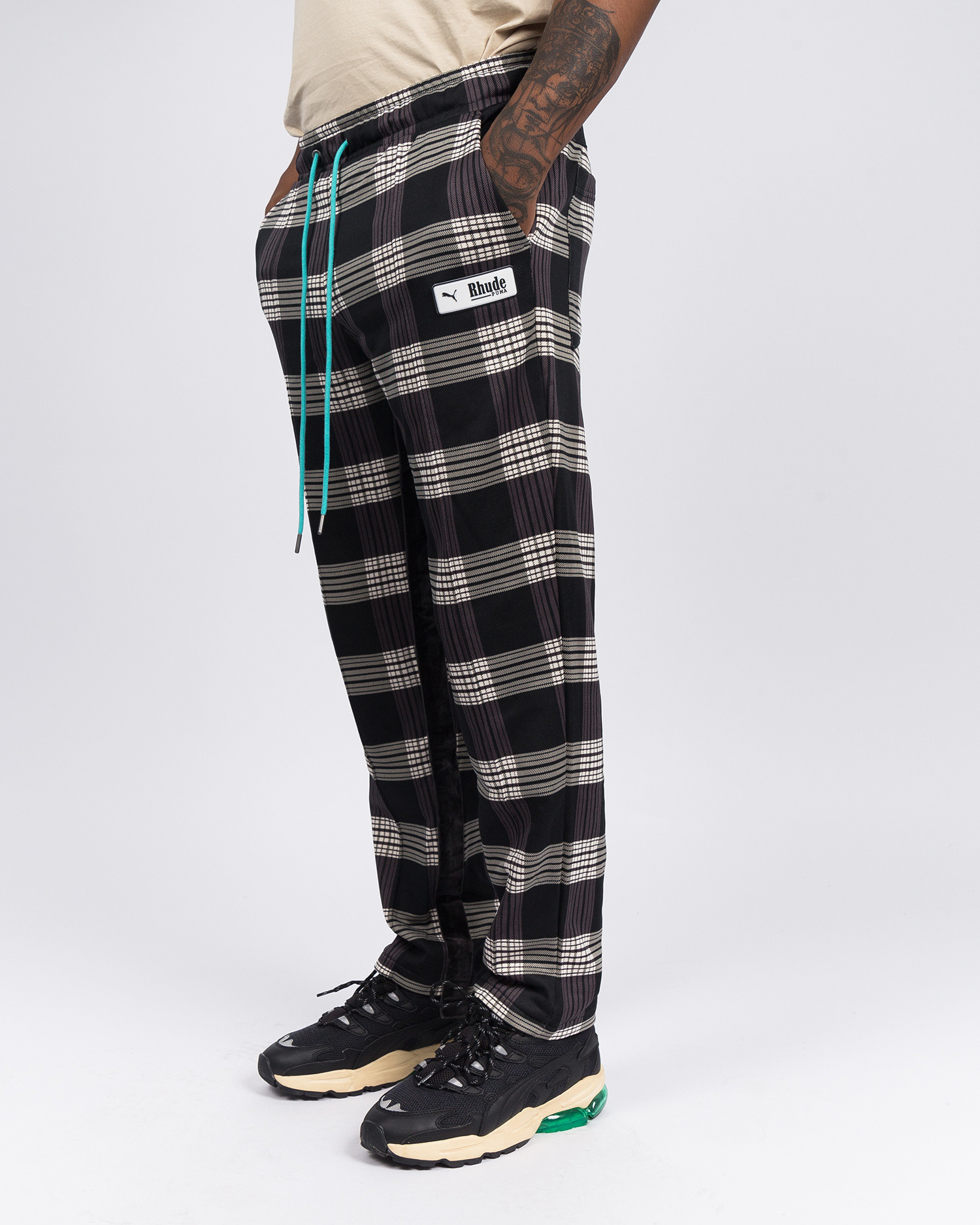 Puma x Rhude AOP trackpants Puma White
