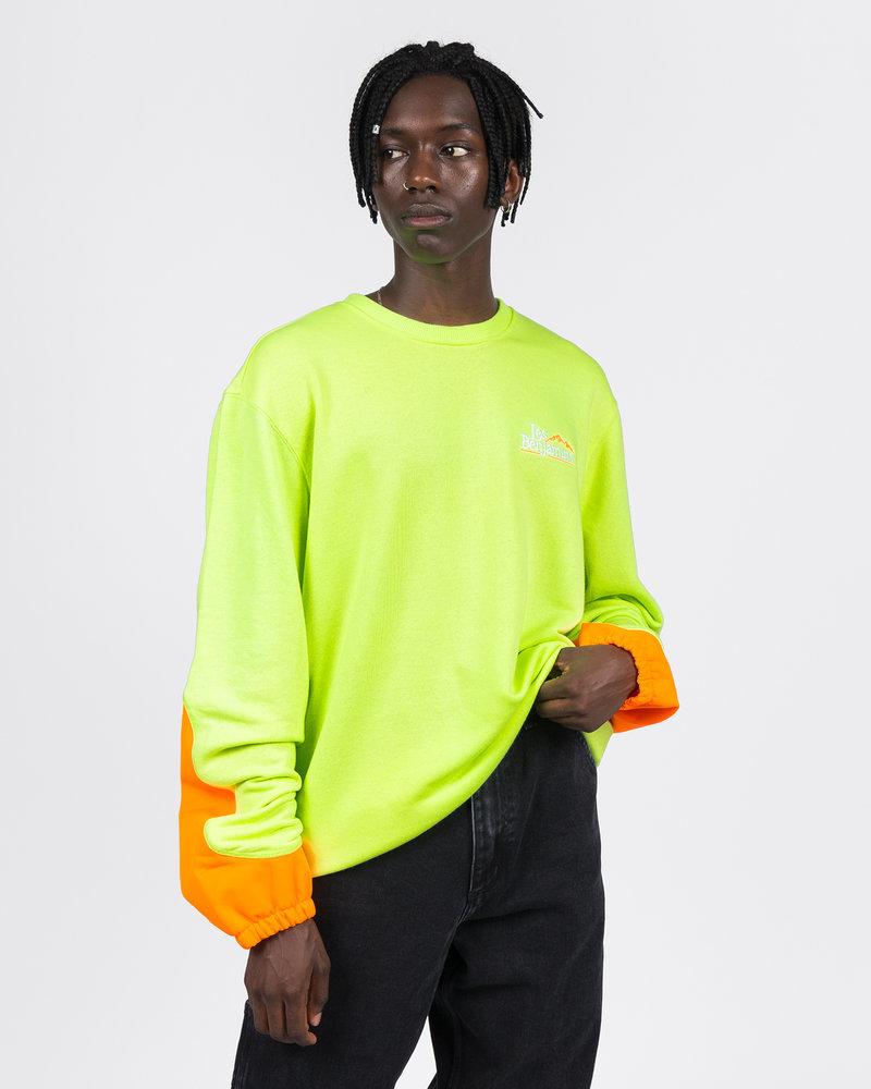 Les Benjamins Les Benjamins Sweatshirt Neon Green