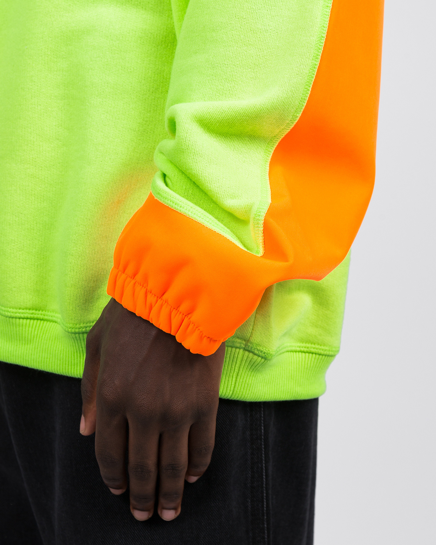 Les Benjamins Sweatshirt Neon Green