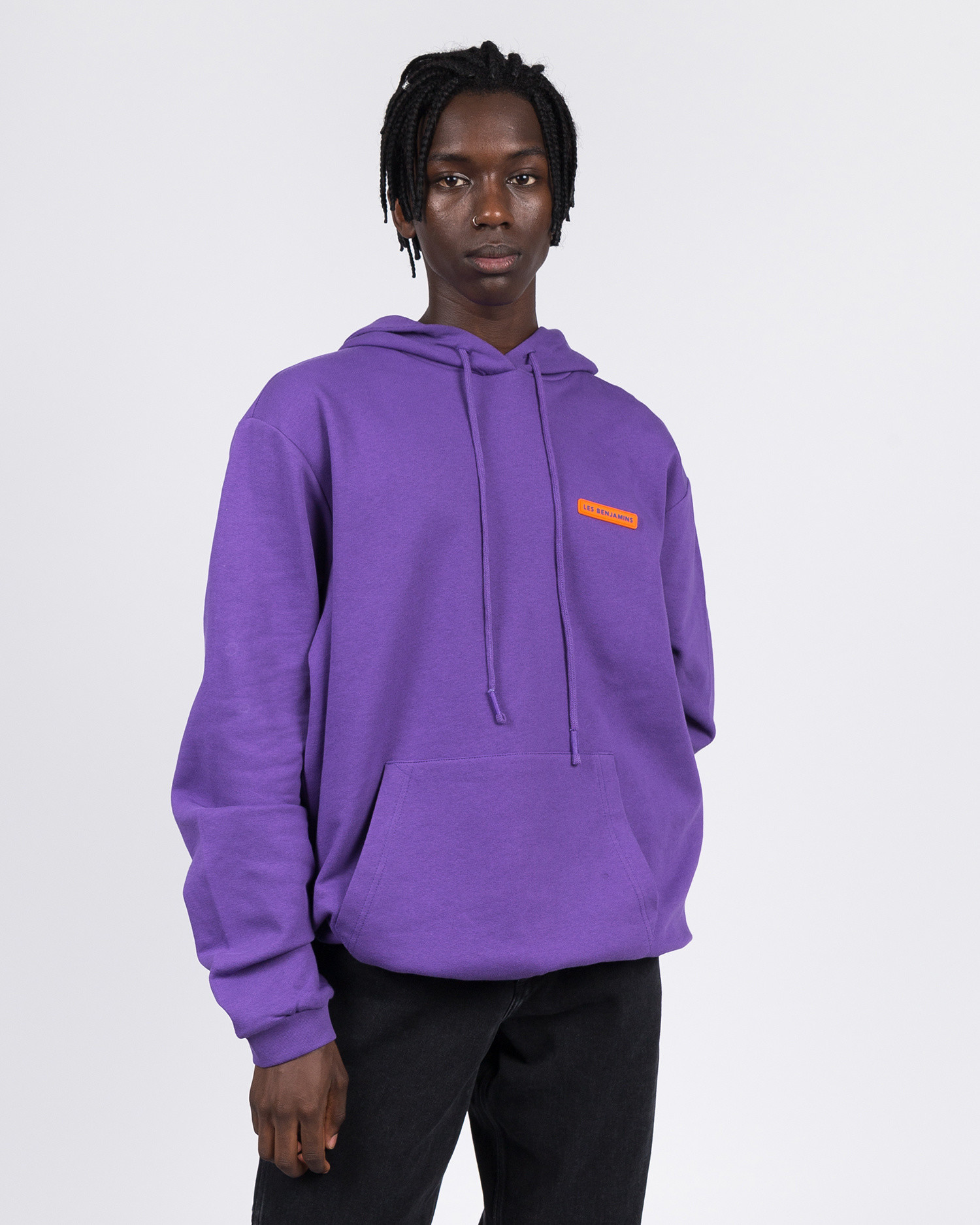 Les Benjamins Hoodie Purple