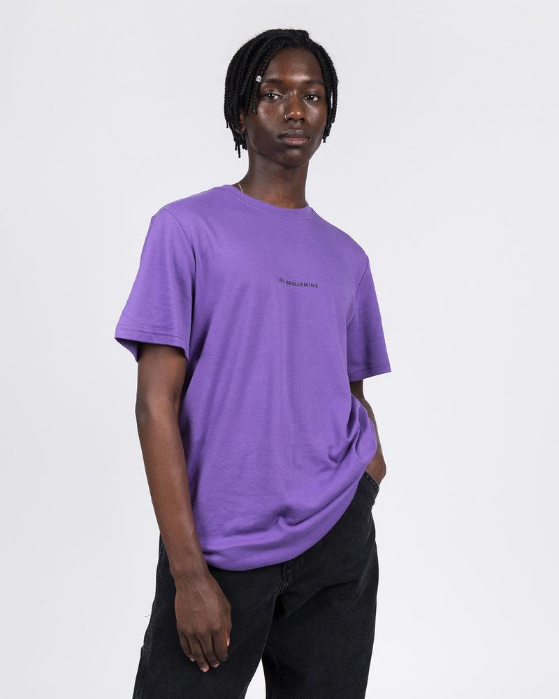 Les Benjamins Les Benjamins Shortsleeve Tee Purple