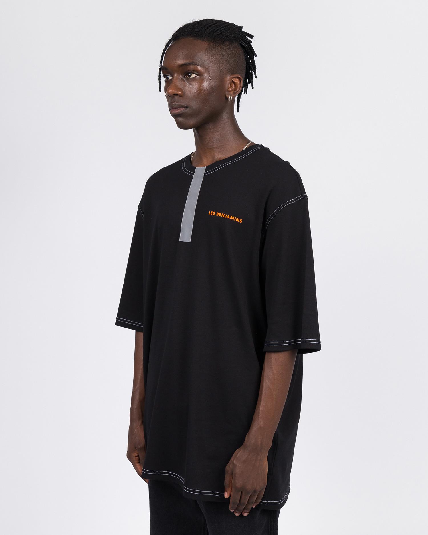 Les Benjamins Oversize Short Sleeve Tee Black