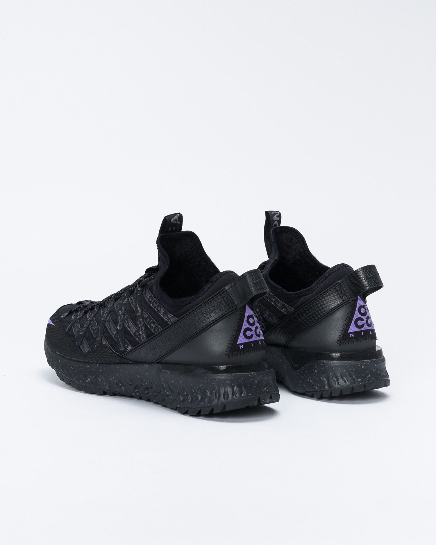 Nike ACG React Terra black/space purple-anthracite