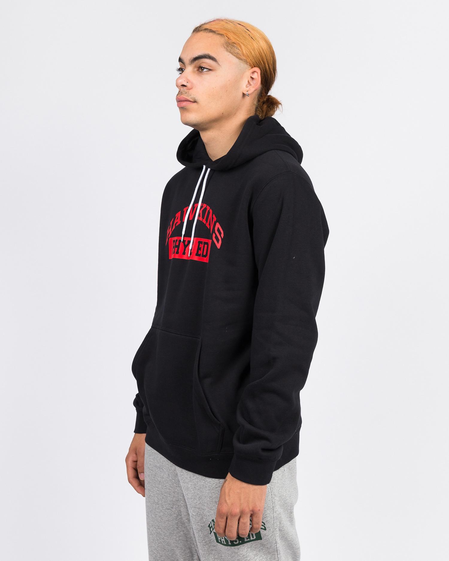 Nike Stranger Things Club Hoodie po bb s.t. Black/white/university red
