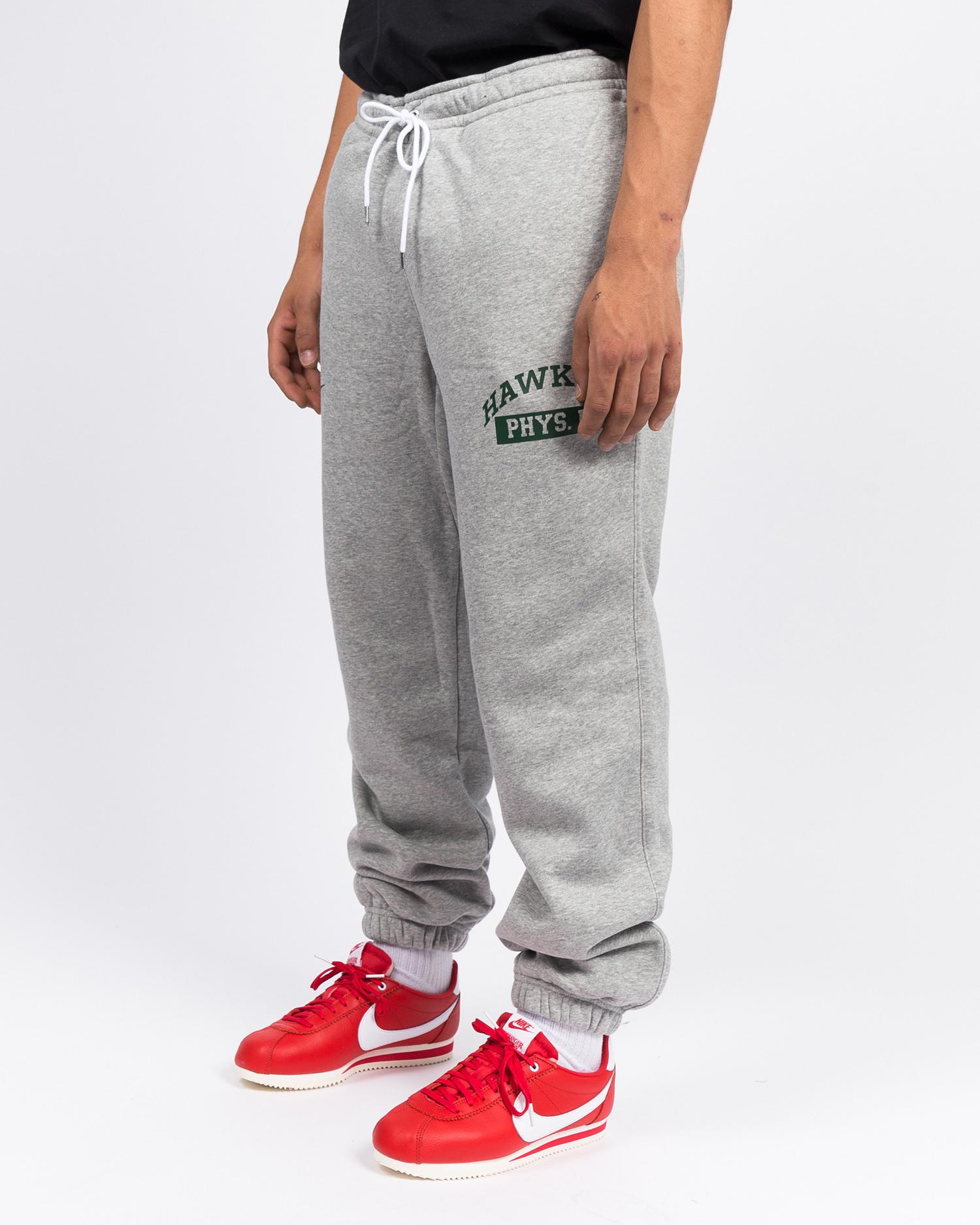 Nike M nrg club pant cf bb stranger things Dk grey heather/white/fir