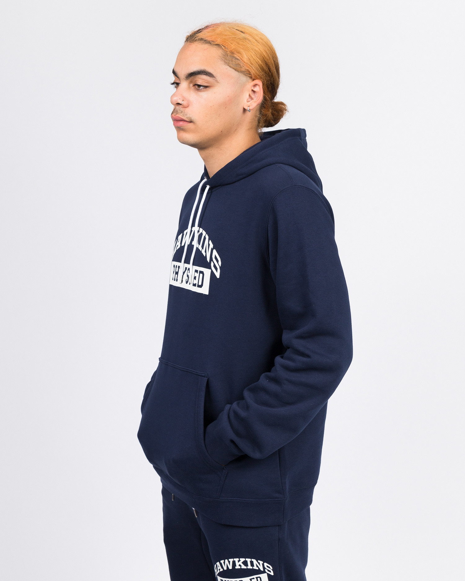 Nike Stranger Things Club Hoodie po bb s.t. Navy/White/Sail