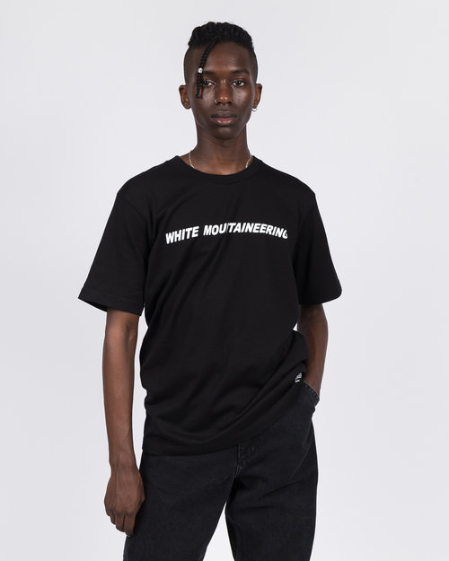 White Mountaineering White Mountaineering Logo T-Shirt Black