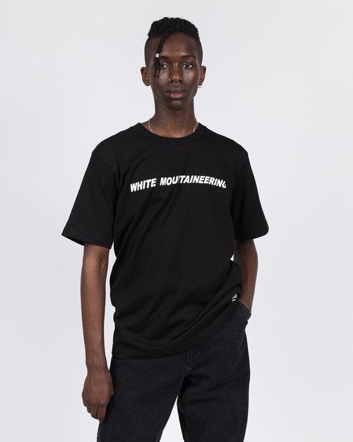 White Mountaineering White Mountaineering Logo T-Shirt Black