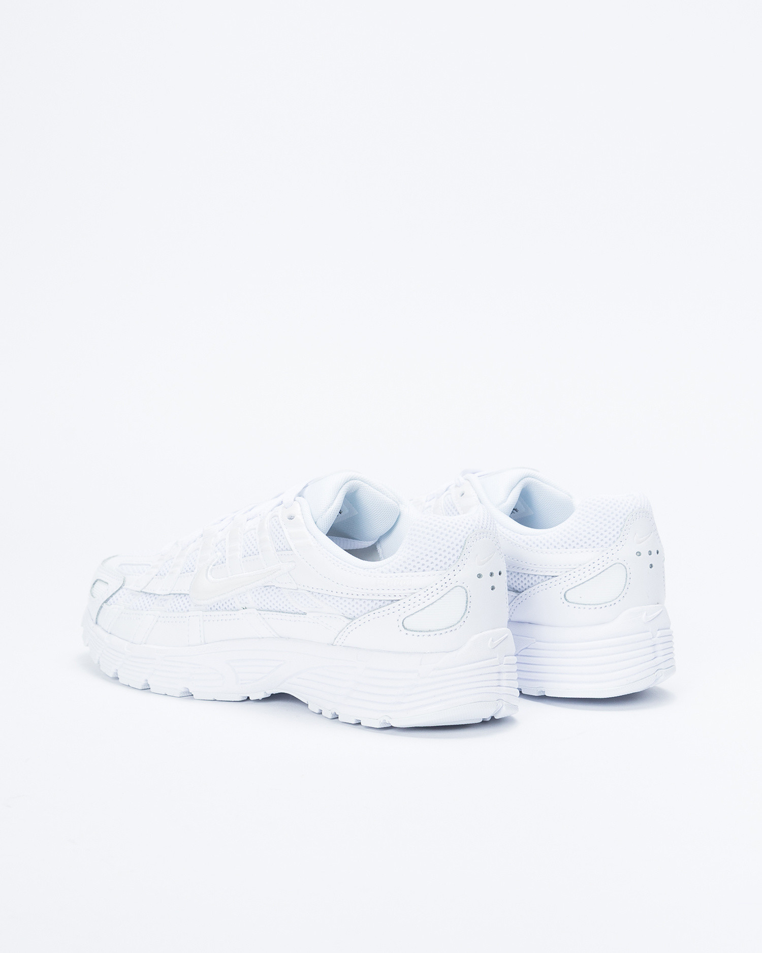 Nike Womens P-6000 White/White-Platinum Tint
