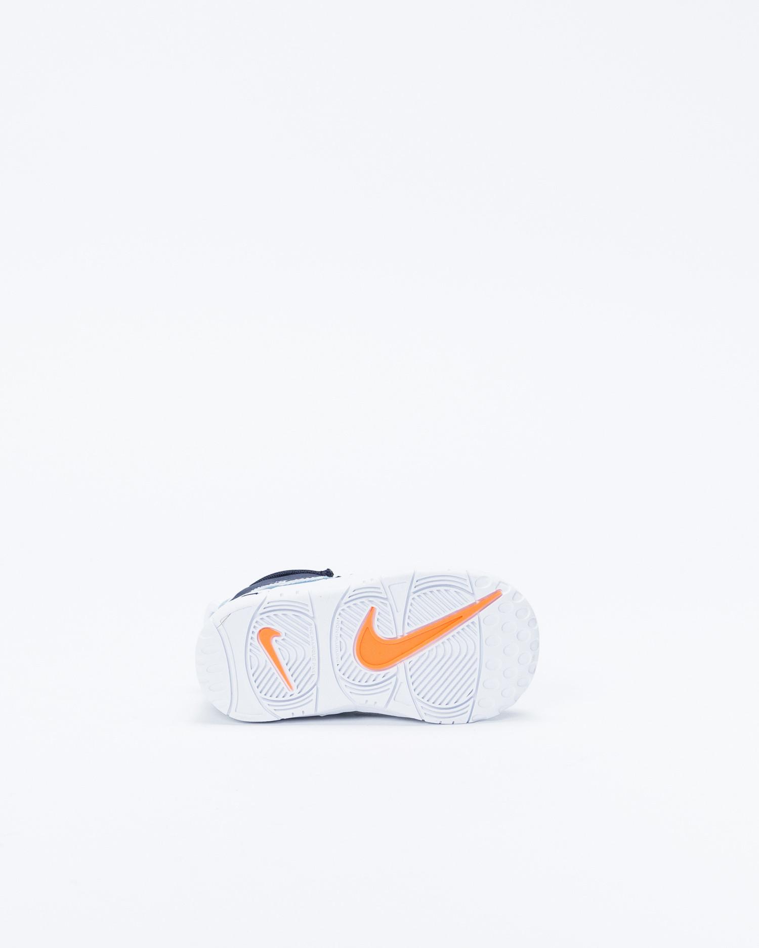 Nike Air More Uptempo Aegean Storm/Blackened Blue-Total Orange