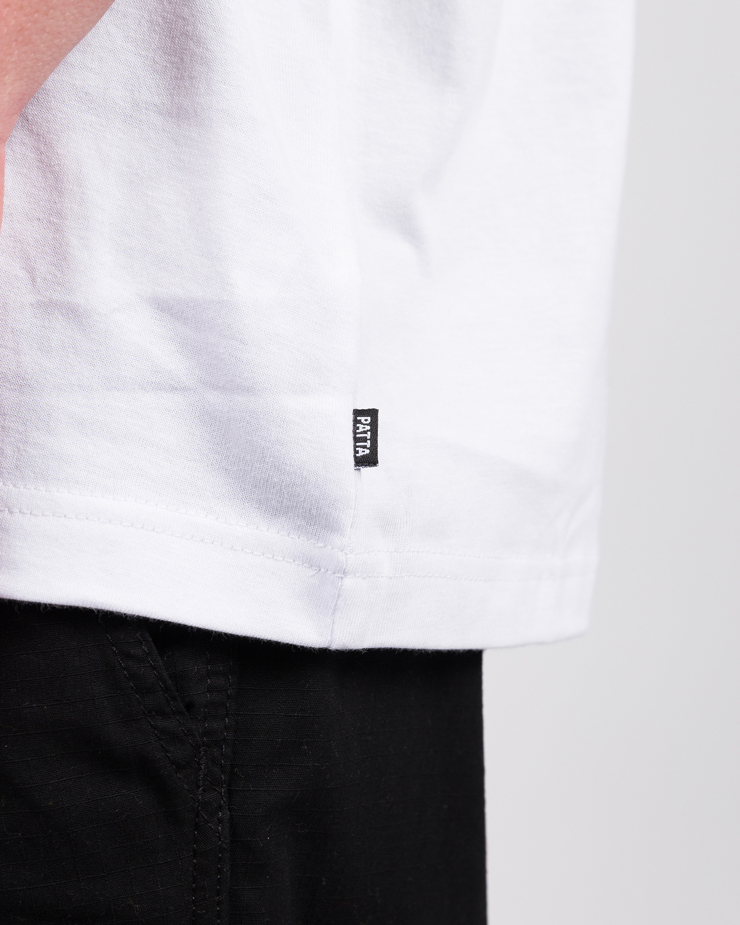 Patta Peek-a-boo T-shirt White