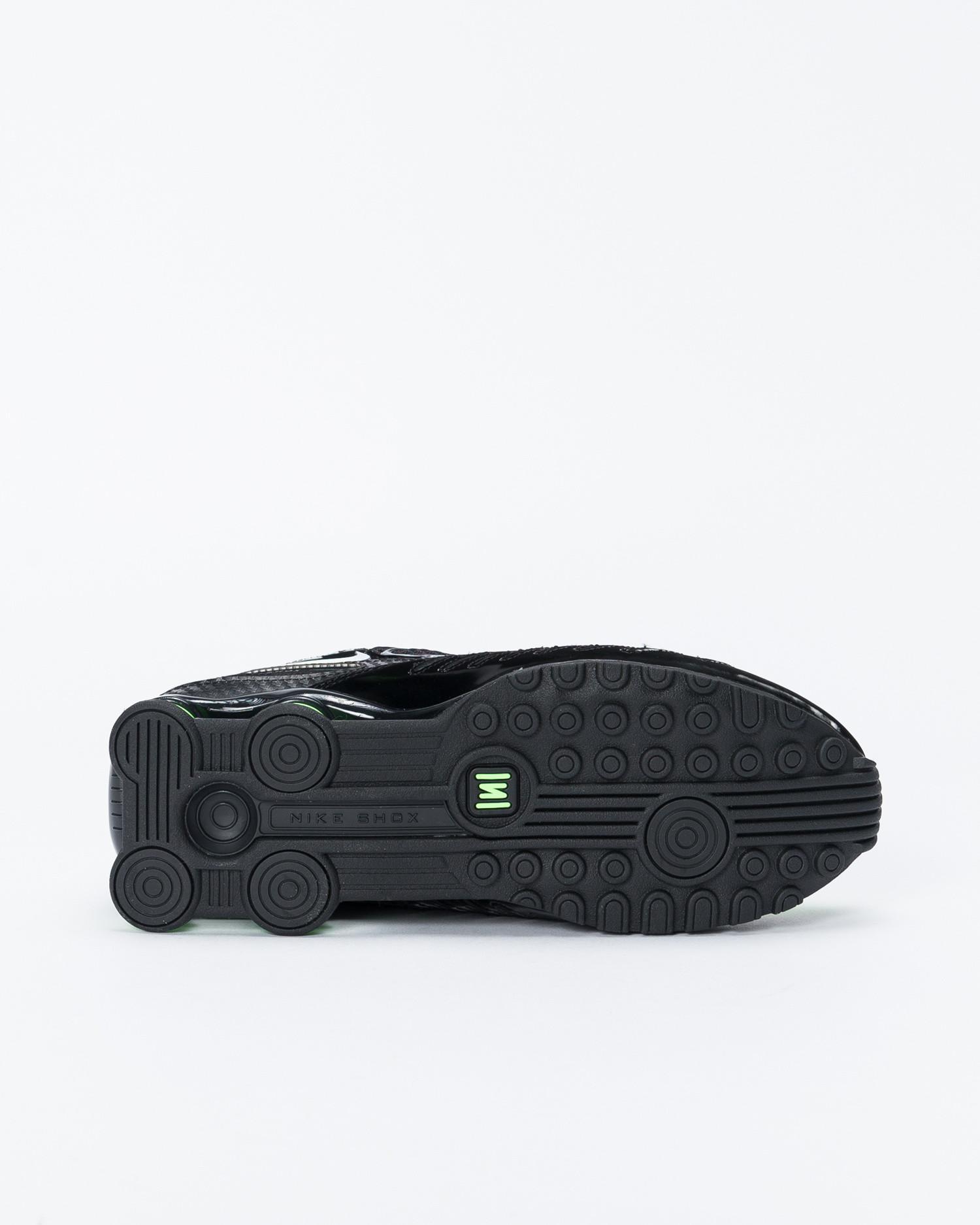Nike Shox Enigma Black 9000/black-lime blast