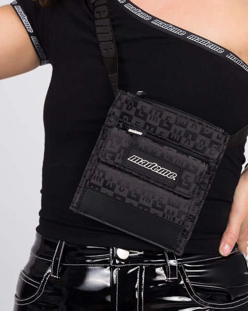 Made Me Made Me Mini Cross Body/Belt Bag Black
