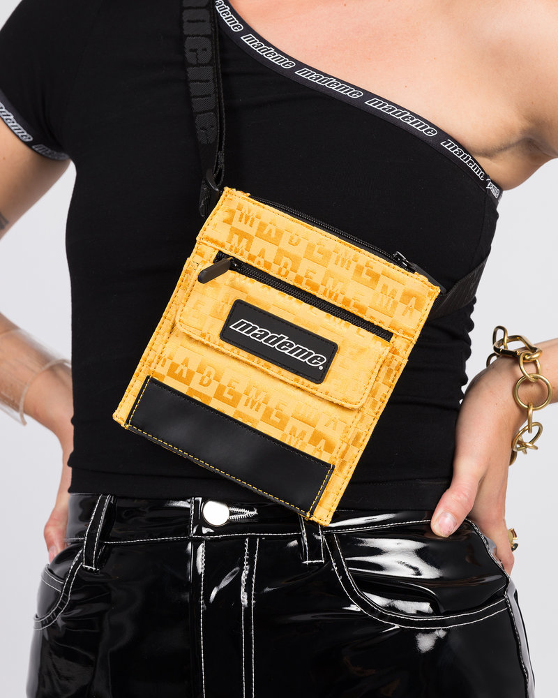 Made Me Made Me Mini Cross Body/Belt Bag Yellow