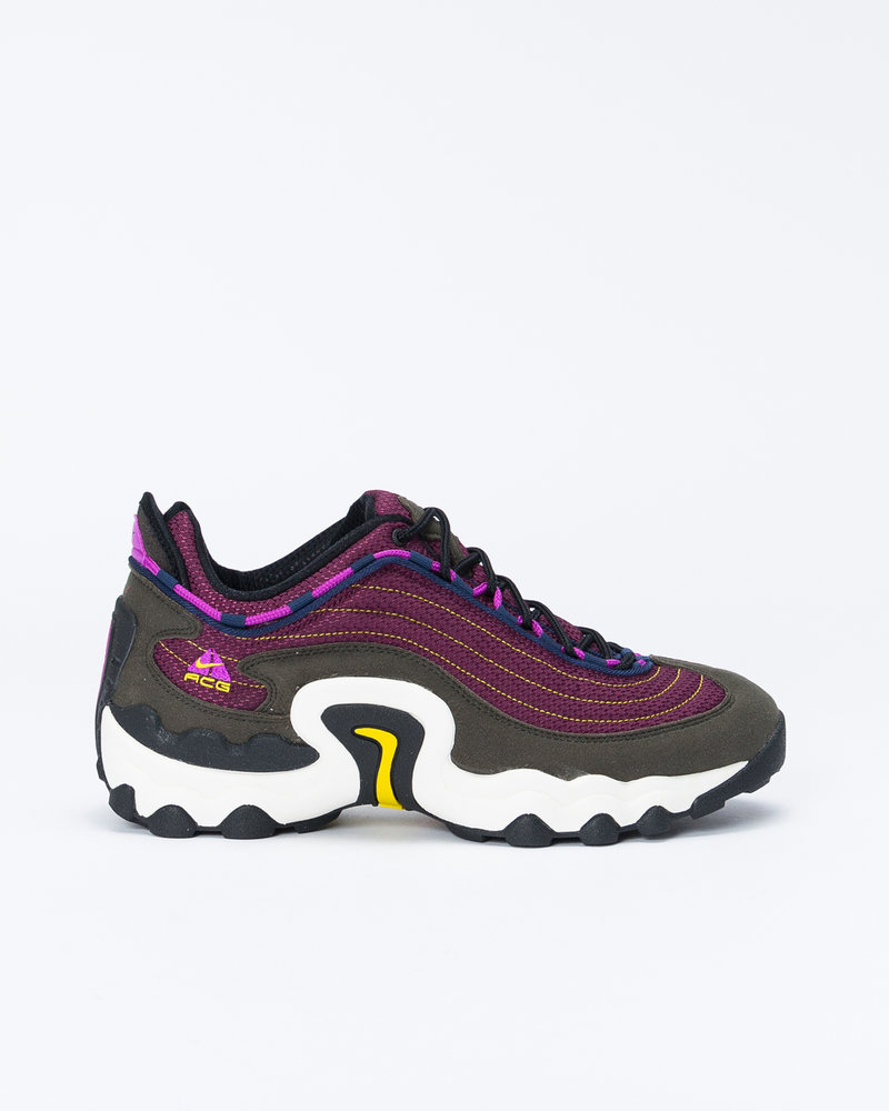 Nike Nike ACG Air Skarn Sequoia / Vivid Purple - Bright Citron